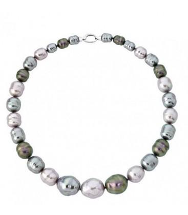 Necklace GRADUATED BAROQUE