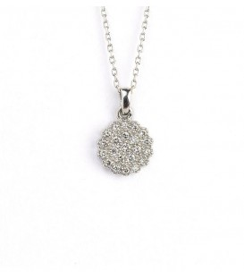 NECKLACE WHITE GOLD 18KT