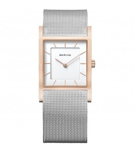 BERING WOMEN'S WATCH MILANESE SILVER