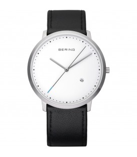 UNISEX BLACK MINIMALIST BERING WATCH