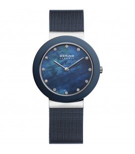 BERING WATCH BLUE ELEGANT WOMAN