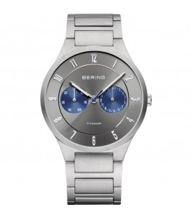 BERING MEN'S WATCH TITANIUM SILVER