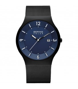 BERING MEN'S WATCH MILANESE BLACK