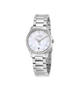Gucci G-Timeless Mother of Pearl Diamond