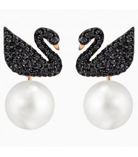 Iconic Swan Earrings