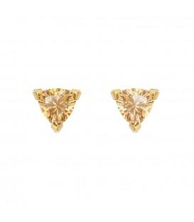Golden Triangle Earrings