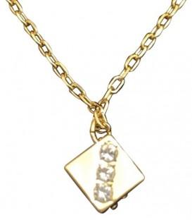 Golden Dice Necklace