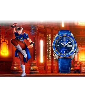 SEIKO CHUN LI - BLUE JADE STREET FIGHTER LIMITED EDITION