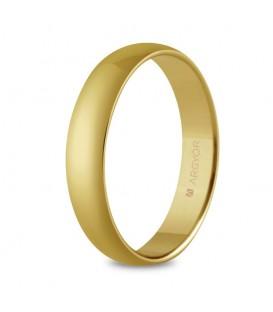 WEDDING RING GOLD CLASSIC 4MM COMFORT