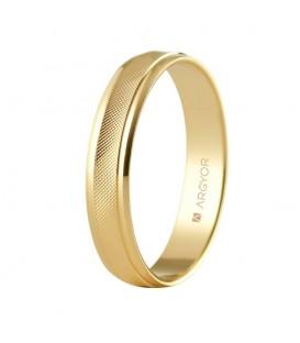 WEDDING RING 4MM ROMBOS