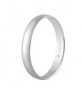 WEDDING RING WHITE GOLD 3MM