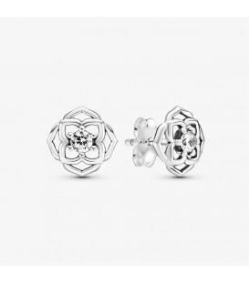 Pandora Rose Petals Stud Earrings